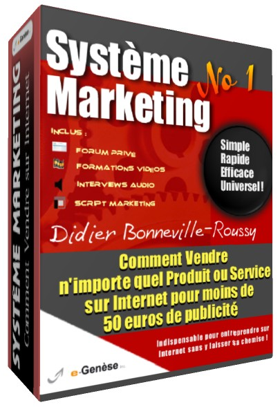 COURS MARKETING - Comment Vendre sur Internet